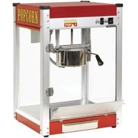 Popcorn Machine 6oz, stainless, stainless steel, electric