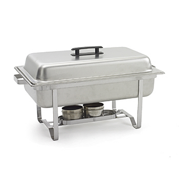A Chafing Dish, grey, stainless steel, 12