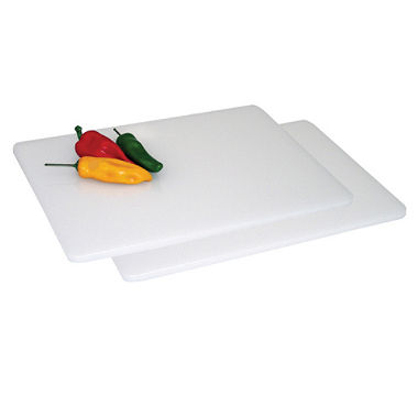 Cutting Board, white, plastic, 18.5