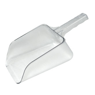 Ice scoop, plastic, 32oz