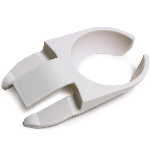 Glass clip holder, plastic