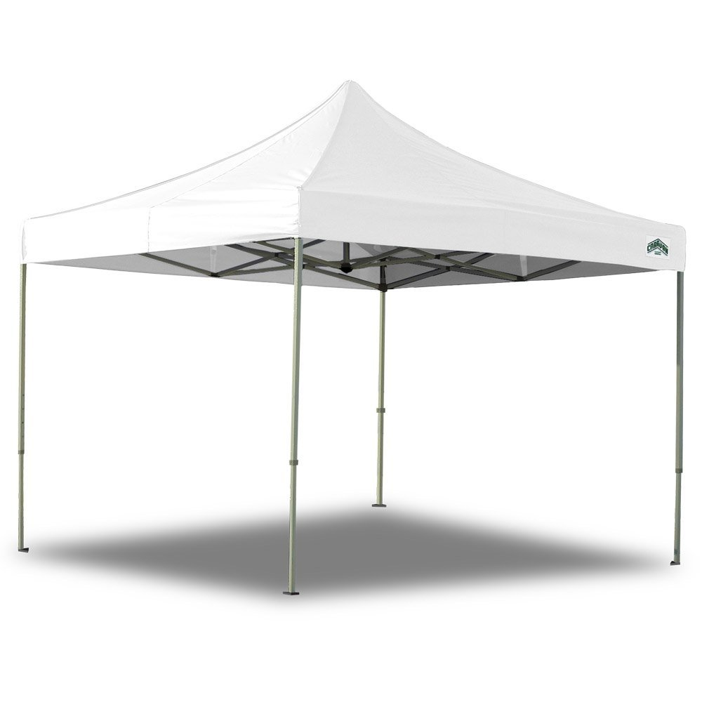 Tent, 10' x 10', white, water resistant poly