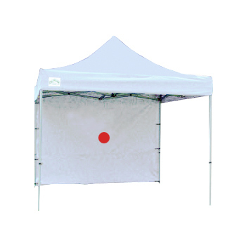 Tent wall, white, 10'