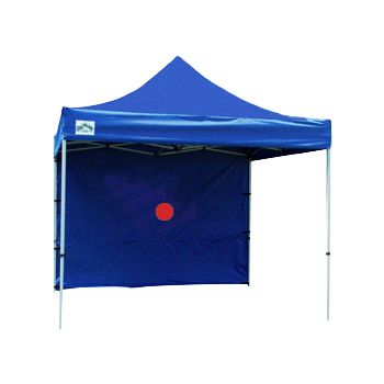 Tent wall, blue, 10'