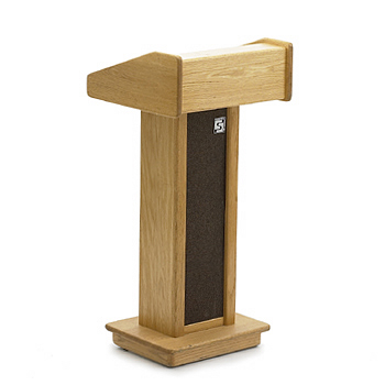 Podium, oak, wood, 4' - lonsdaleevents.com