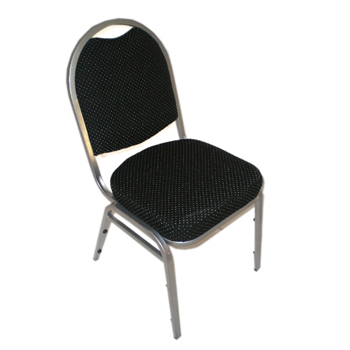 Chairs, black, banquet, stacking