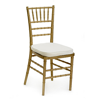 Chairs, Chiavari, gold