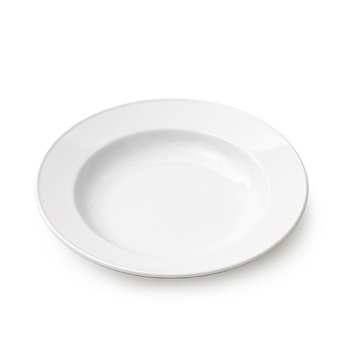 Royal white soup plate, 10