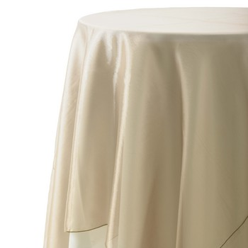 Table runner, champagne, organza, 15