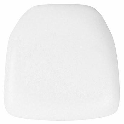"X Chair cushion, ivory, 16""x16"""