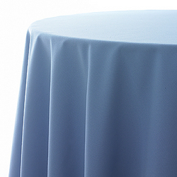 Tablelcoth, wedgewood blue, poly, 60
