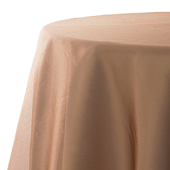 Table Overlay, copper, organza, 72