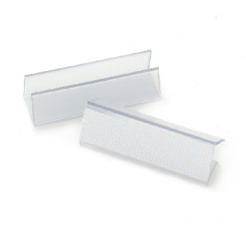 Skirting clip(13 pack), clear, plastic