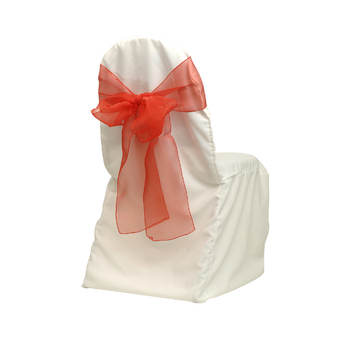 Chair Cover, Banquet, ivory, poly
