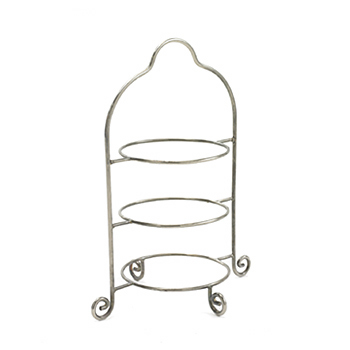Stand, chrome, 3 tier, round