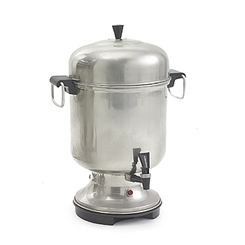 Coffee Urn, chrome, 55cup