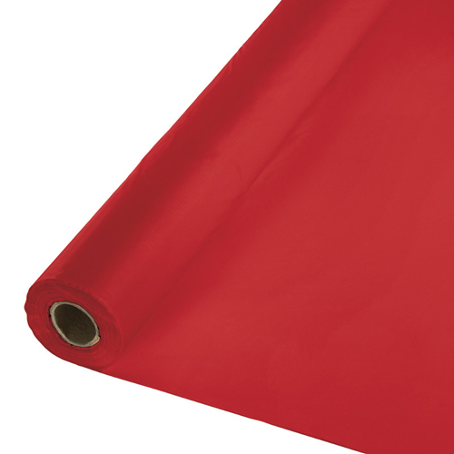 Table roll, red apple, plastic, 40