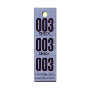Coat Hanger Checks, paper, 100 pack, 2 pc