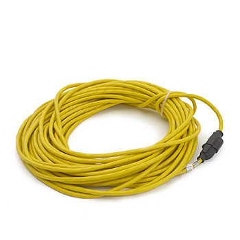 Z Extension Cord, yellow, rubber, 100 ft. 12/3