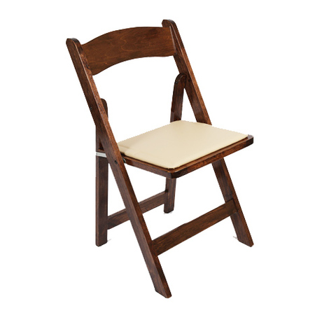 Chair, walnut, wood, Folding