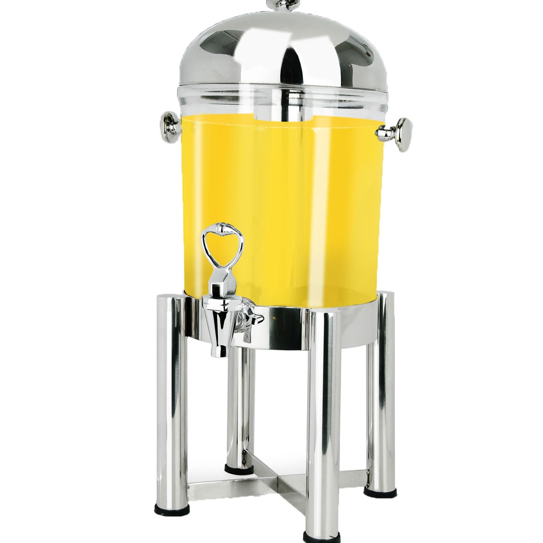 Beverage Dispenser, stainless acrylic, 7.5L / 32 Cups