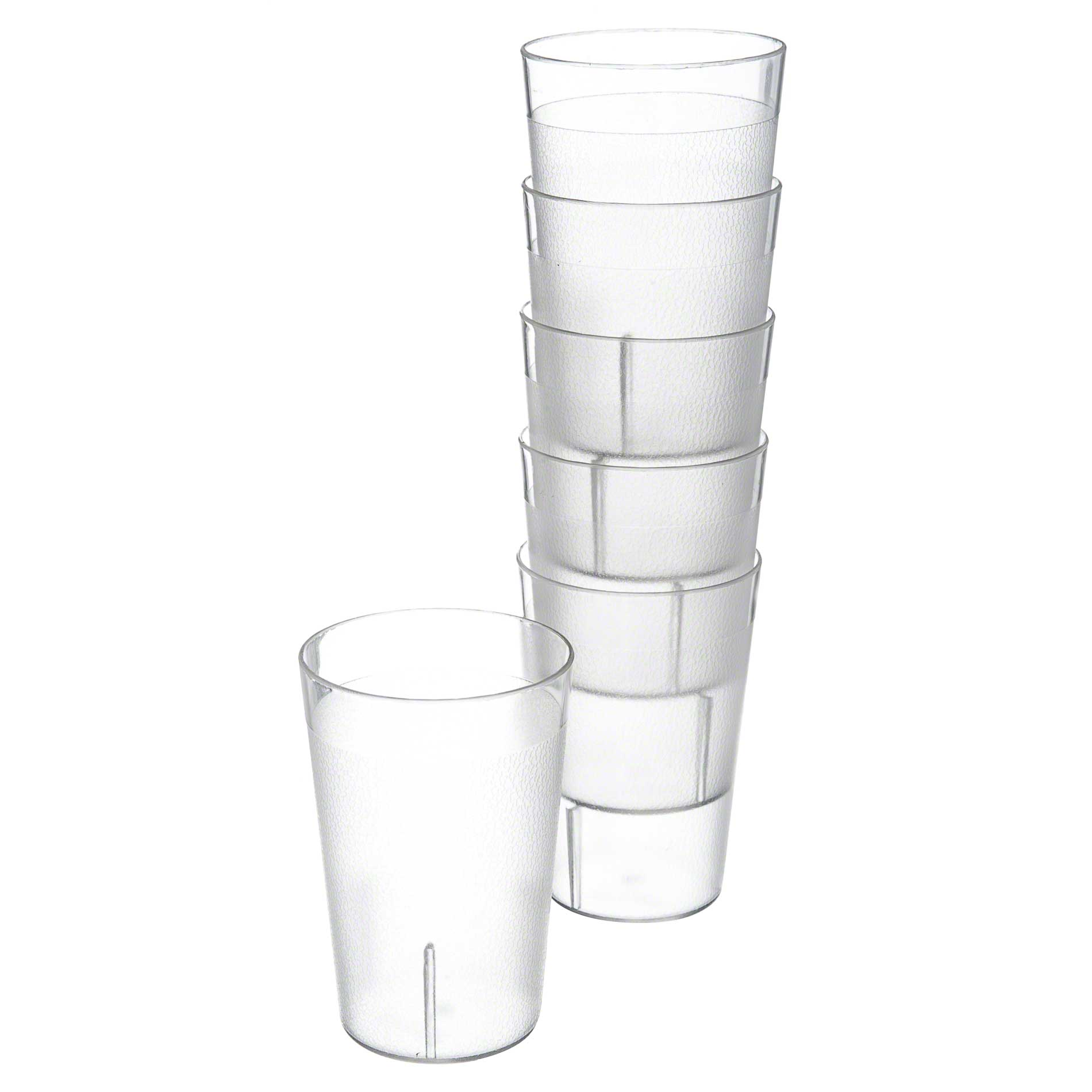 Kids Cup, 8 oz, clear, acrylic, Stackable