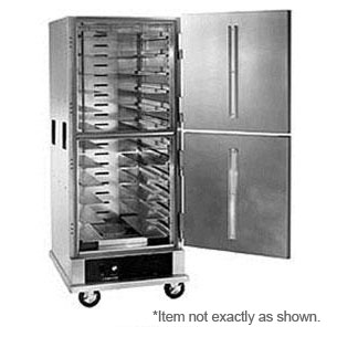 Warming Cabinet - Brute, grey, stainless steel, Holds 24 - 2