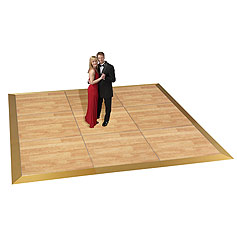 Dance Floor, oak, wood, 3 x 3