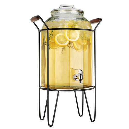 Cold Beverage Dispenser , glass, 11L