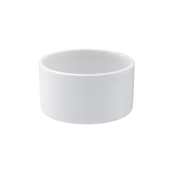 Ramekin ~ Mini , white, ceramic, 2 3/4oz