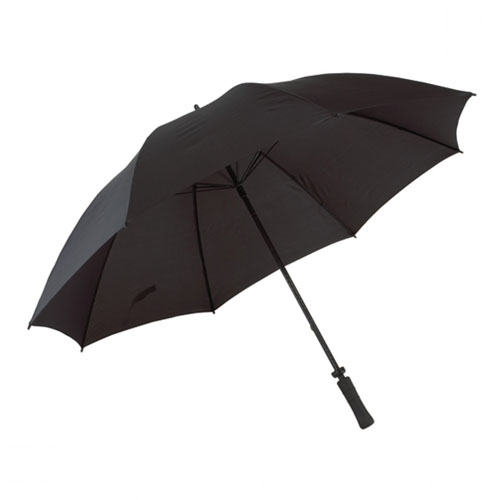 Golf Umbrella , black, carbon fiber, 48